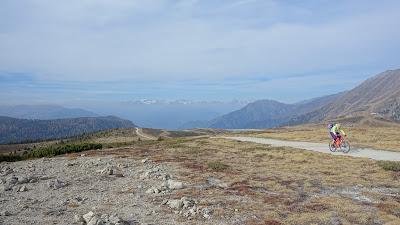 Aussicht auf die Südtiroler Berge