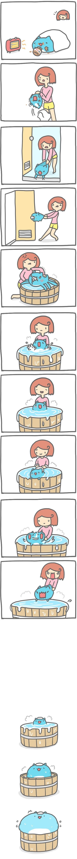 Truyện Mìn Lèo #98: Không thích tắm