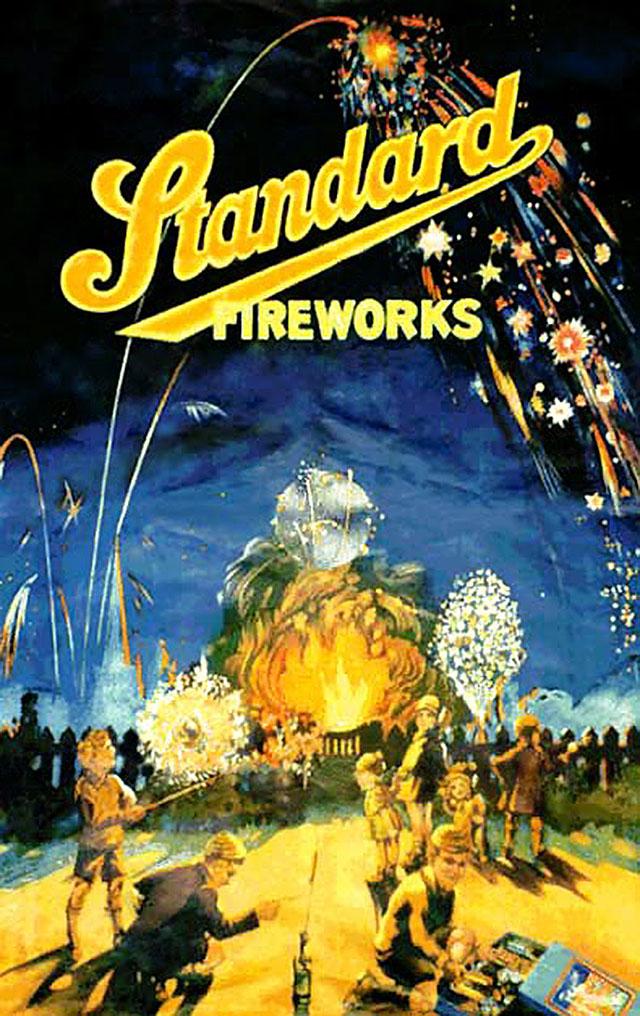 Vintage Fireworks Posters Packaging Amp Ads