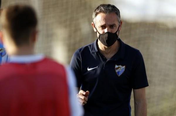 """Nacho - Málaga Juvenil A -: """"Es un buen resultado, podría haber sido mejor"""""""
