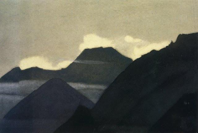 Николай Рерих - Кулута (Горы перед рассветом). 1935