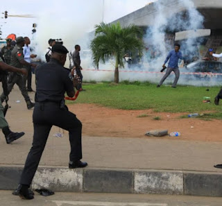 #Revolutionnow, protest to continue on Tuesday – Organiser