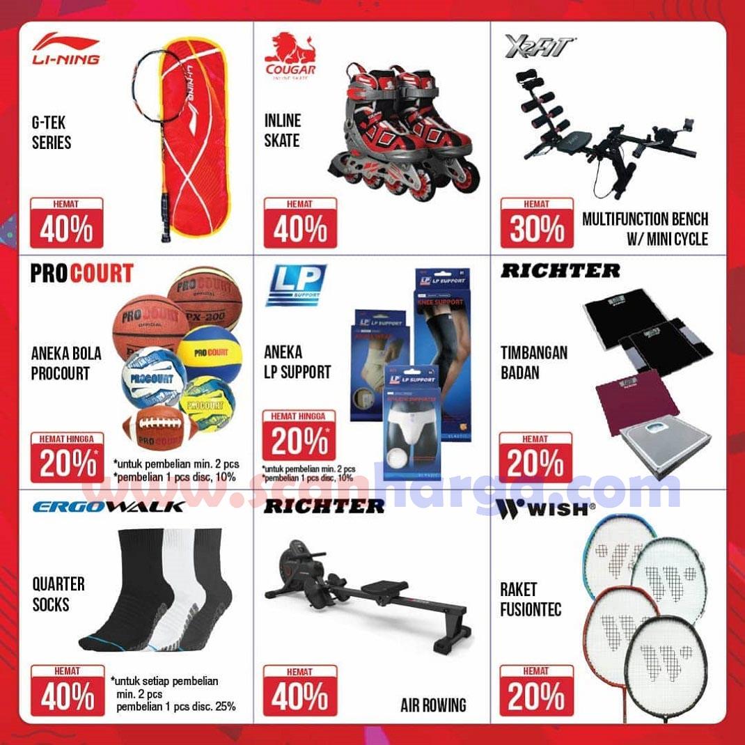 Katalog Promo MG Sports 2 November 2020 - 11 Januari 2021 2
