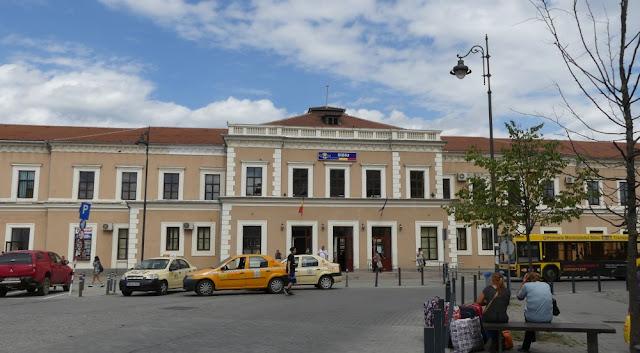 Bahnhof Sibiu, Rumänien