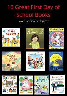 10 great readings for the first day of school to use with students in class