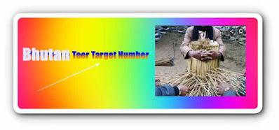 Bhutan Teer Target Number