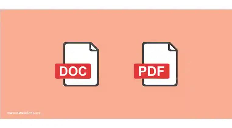 Cara Mudah Merubah file DOC ke PDF di Word 2007