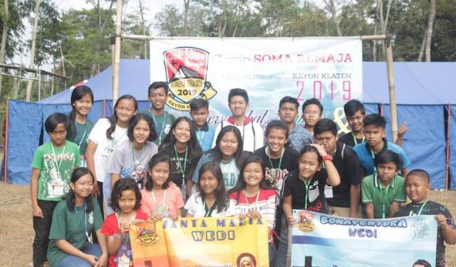Ikuti Camp SOMA, PIR Rayon Klaten Diutus Jadi Generasi Penerus Gereja Yang Hebat