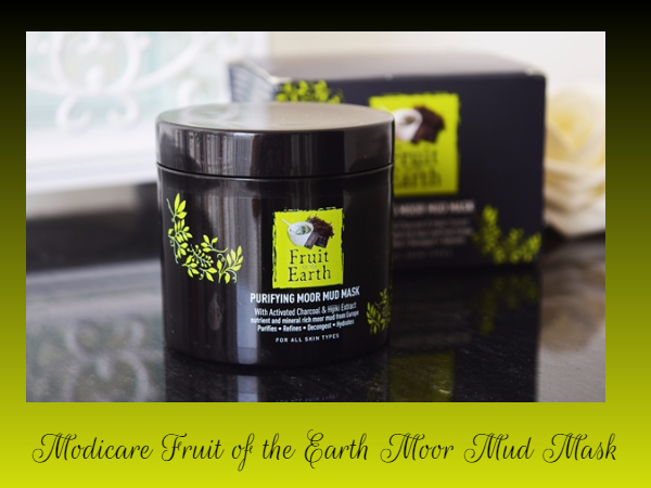 Modicare Fruit of the Earth Moor Mud Mask Review