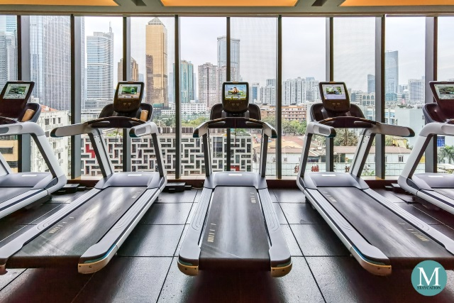 Fitness Center of Hilton Guangzhou Tianhe