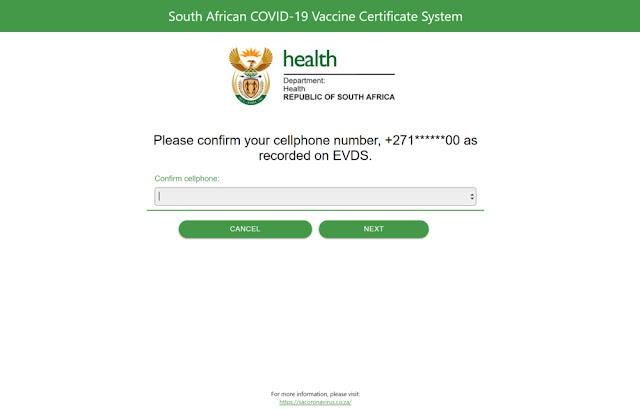 Covid-19 vaccination certificate