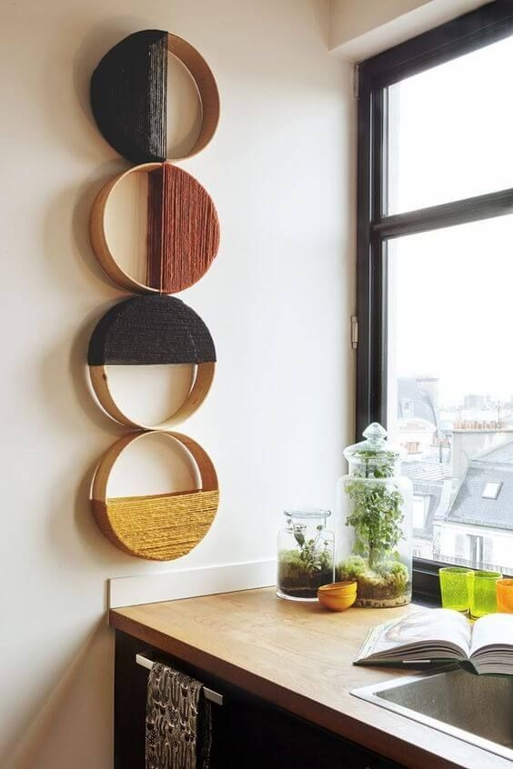 Decorate your home with easy crafts