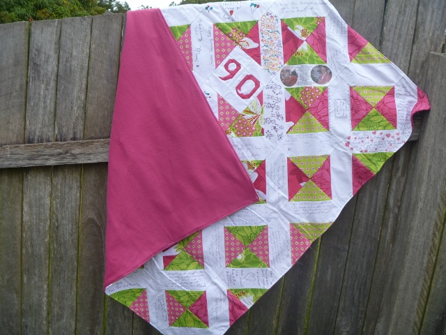 Quiet Play Completed Quilts