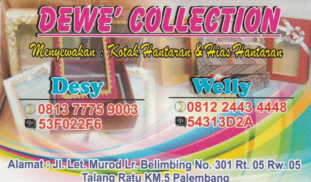 Dewe' Collection, Menyewakan Kotak Hantaran dan Hiasan Hantaran