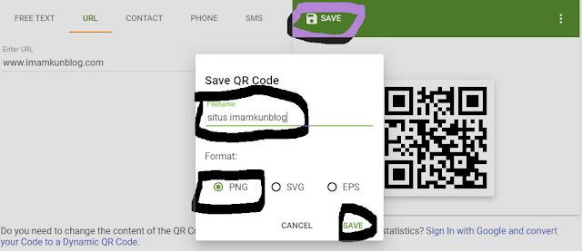 Cara Membuat Kode QR dengan QR Code Generator