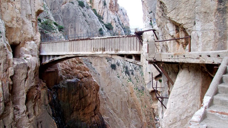 El Caminito del Rey, El Chorro, Spain - Top 10 Hiking Trails in the World