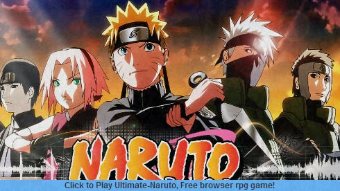 Free Game RPG Online Ultimate Naruto