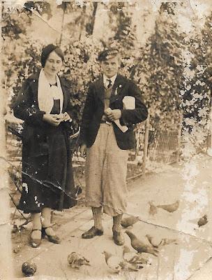 Jan z sympatią (?) w Kielcach - lata 30te