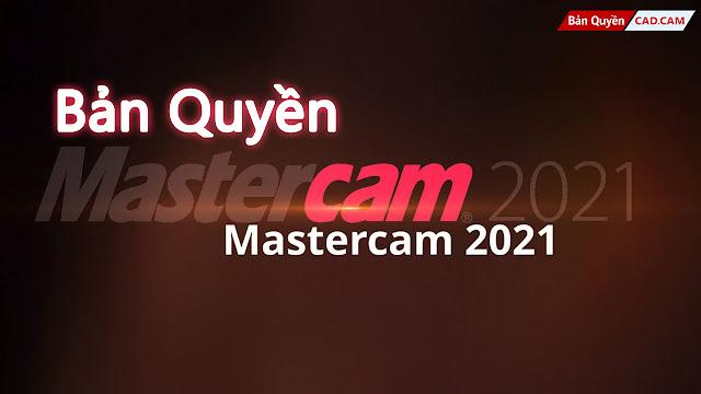 MasterCAM bản quyền