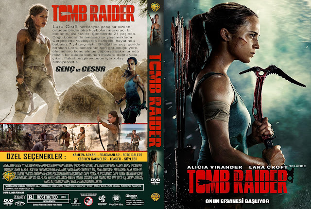 Tomb Raider (turkish) DVD Cover