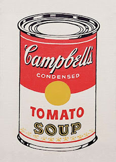 Lithograph reproduction - Andy Warhol's soup can