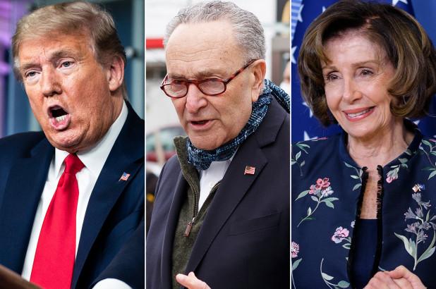 Trump blasts Schumer, Pelosi as 'crazy' and 'un-American'