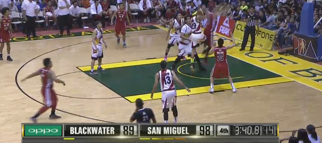 San Miguel def. Blackwater, 107-101 (REPLAY VIDEO) September 18