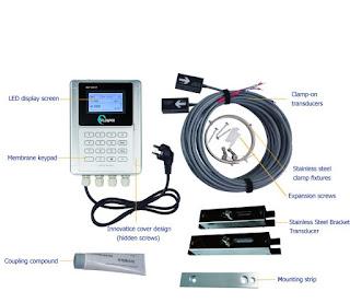 Flow Meter Ultrasonic yang Digunakan untuk Cooling Tower