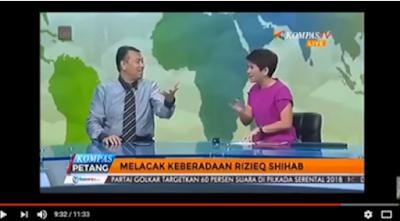 Panas, Kuasa Hukum Habib Razieq Bungkam Presenter Kompas TV, Tonton Videonya