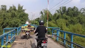 Jembatan lawas di bumiayu