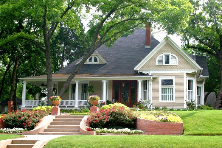 House colors popular home interior design sponge - Popular colors for exterior house paint ...
