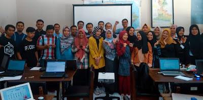 Pelatihan Blogger di Cianjur
