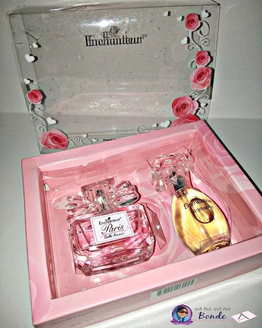 SET HADIAH MINI ENCHANTEUR (BELLE AMOUR & ROMANTIC)