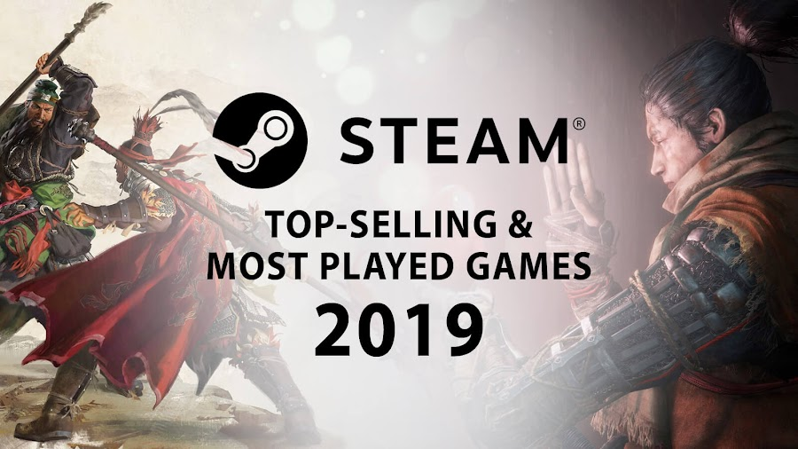 steam top best selling games 2019 total war three kingdoms sekiro shadows die twice pc