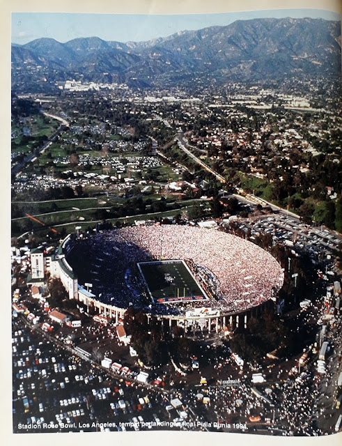 WORLD CUP USA 94 STADION ROSE BOWL (LOS ANGELES AMERIKA SERIKAT)