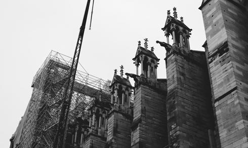 Notre Dame Rebuild Paris 2021