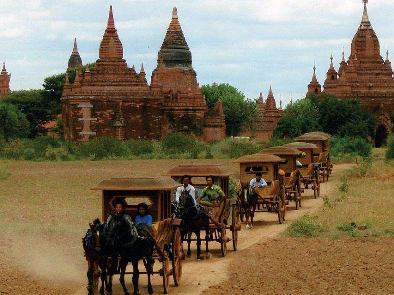 Как путешествовать по Багану во Мьянме