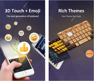 GO keyboard is one of the best keyboards of all time. It was features as best new apps on App Store and has been downloaded over 200 million times by iOS users.