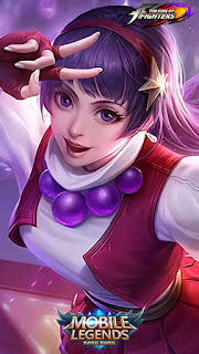 Guinevere Athena Asamiya Heroes Fighter Mage of Skins