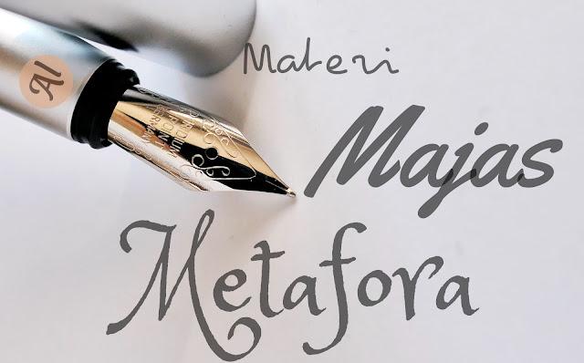 Majas metafora adalah, contoh majas metafora dalam puisi, personifikasi, hiperbola, simile, metonimia, alegori