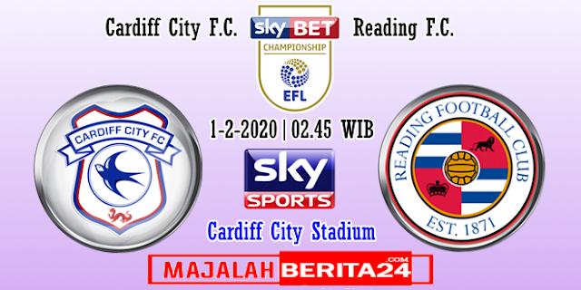 Prediksi Cardiff City vs Reading — 1 Februari 2020