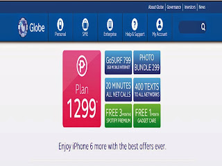 iPhone 6 and iPhone 6 Plus Plans Exclusive at Globe Offers Starting Today