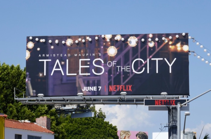 Tales of the City Netflix series billboard
