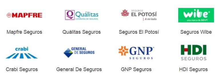Algunas ASeguradoras para Autos en mexico Caras y Baratas ve Opiniones Rastreator