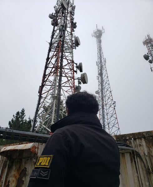 PDI investiga robo de baterías de antenas de telecomunicaciones