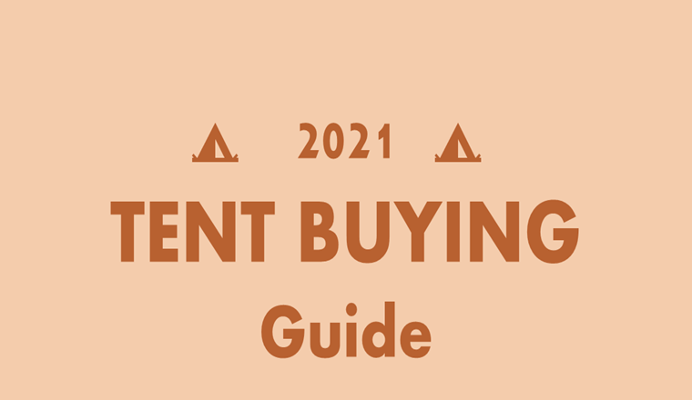 2021 Tent Buying #infographic
