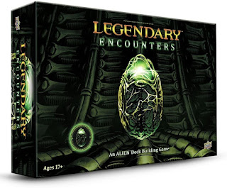Legendary Encounters  Alien board game