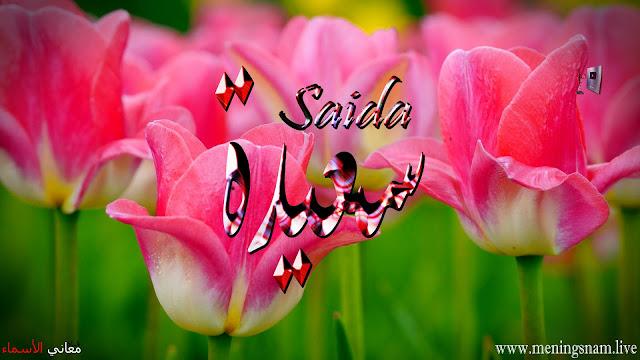 معنى اسم سعيدة وصفات حاملة هذا الاسم Saida