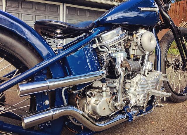 Harley Davidson Panhead By Pod Hell Kustom