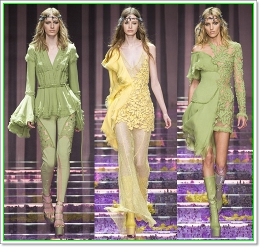 Versace Haute Couture Herbst/Winter 2015-2016